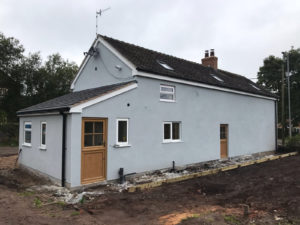 House rendering stoke